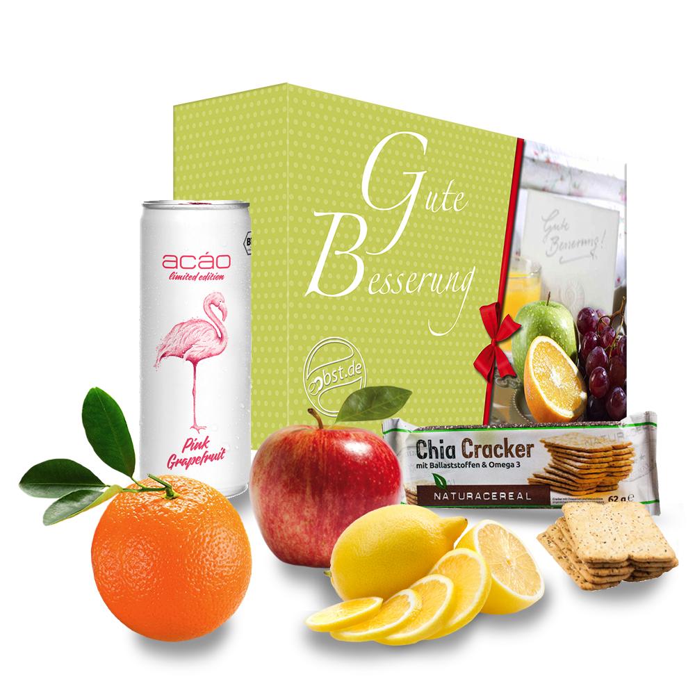 'Gute Besserung' Grapefruit Energiebox