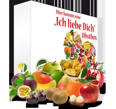 """Große regio-exotische """"Ich liebe Dich""""  Box"""