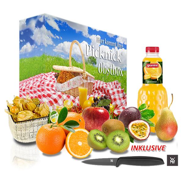 Die große Picknick Obstbox