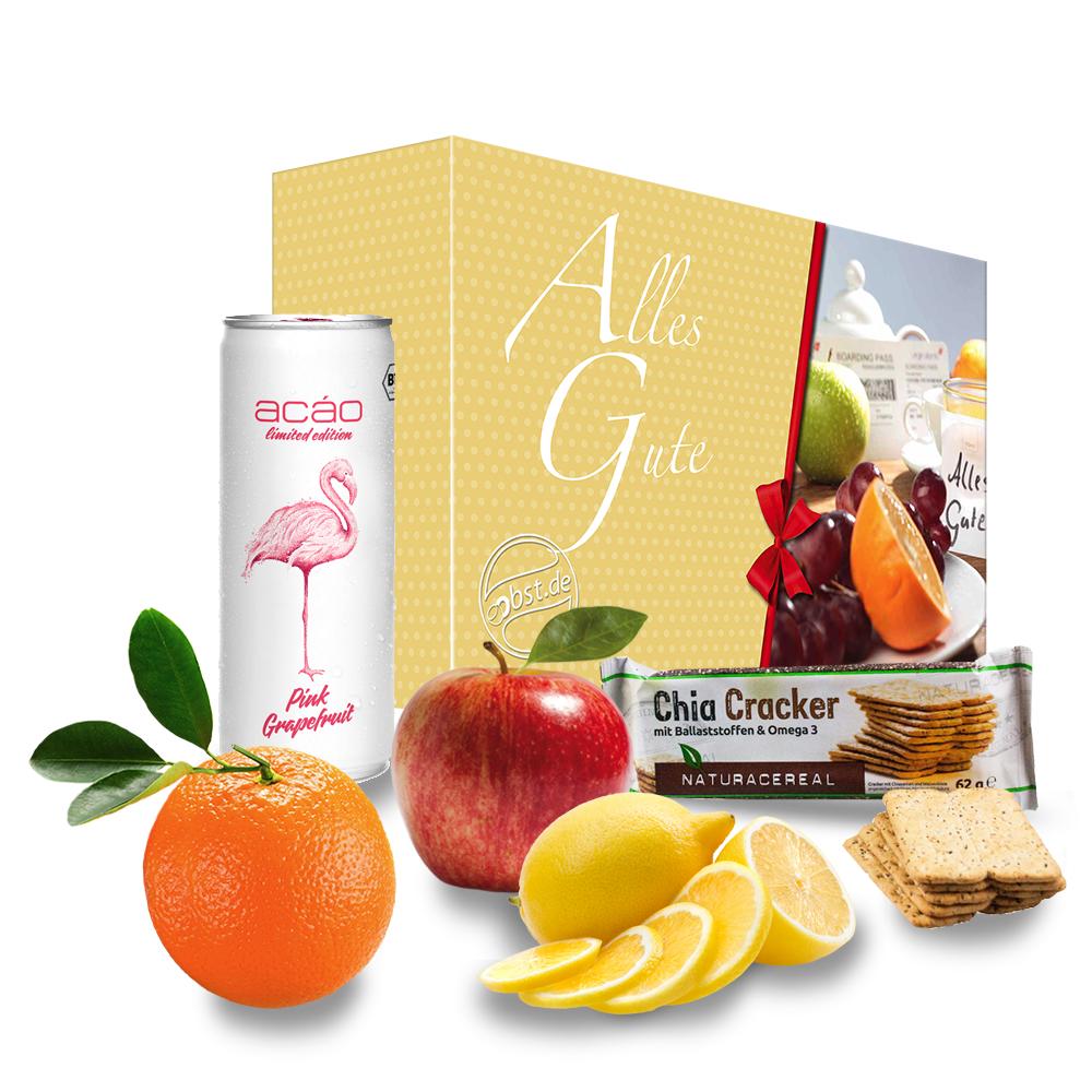 Die 'Alles Gute' Grapefruit Energiebox