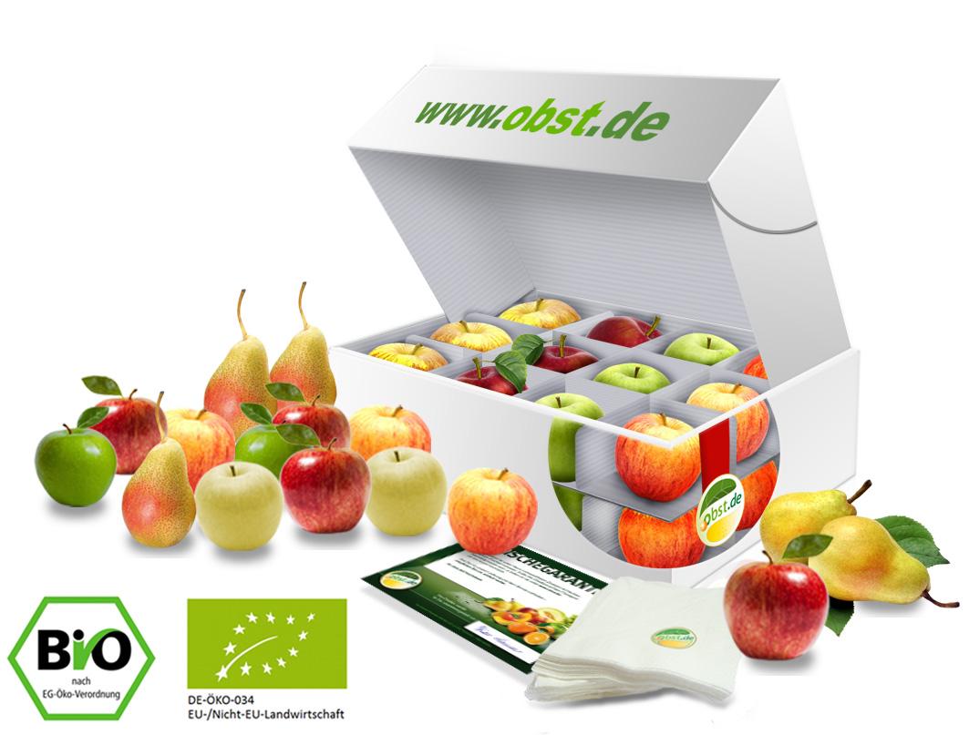 BIO-Bürobox Apfel + Birne